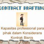 pelatihan Drafting dan Negosiasi Kontrak Komersial