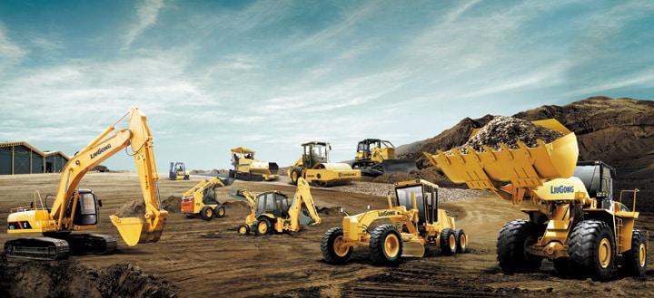Heavy Equipment for Material Handling