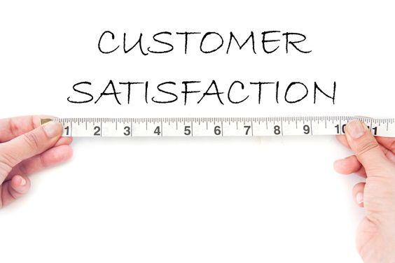Measuring Customer Satisfaction & Evaluation