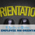 training New Employee Orientation